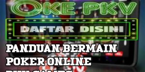 Panduan Poker Pkv Games Online